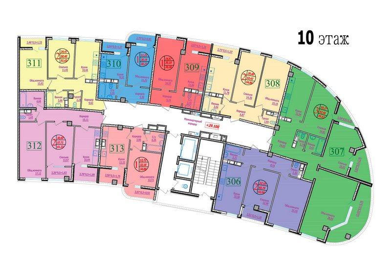 этаж 10