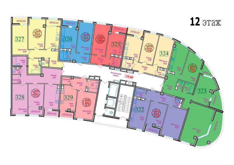 этаж 12