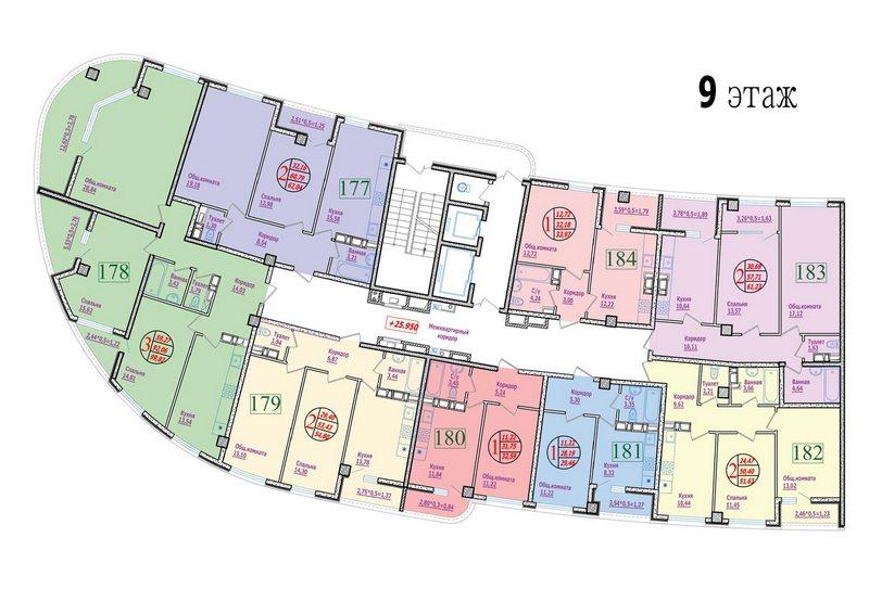 этаж 9