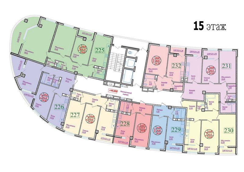 этаж 15