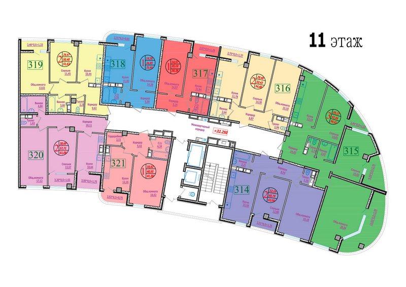 этаж 11