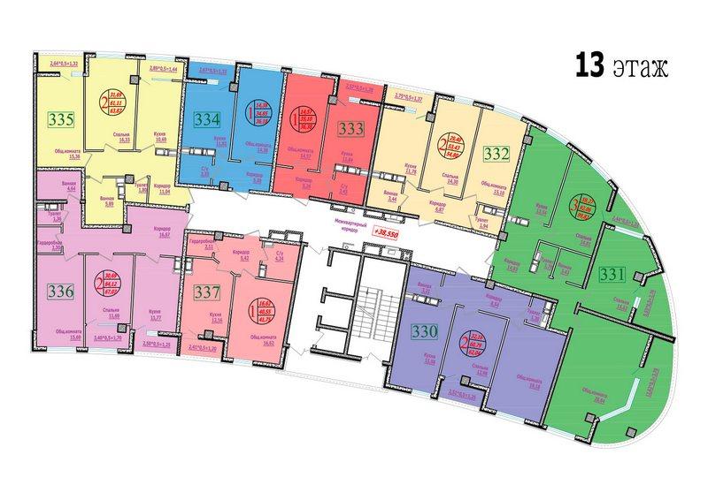 этаж 13