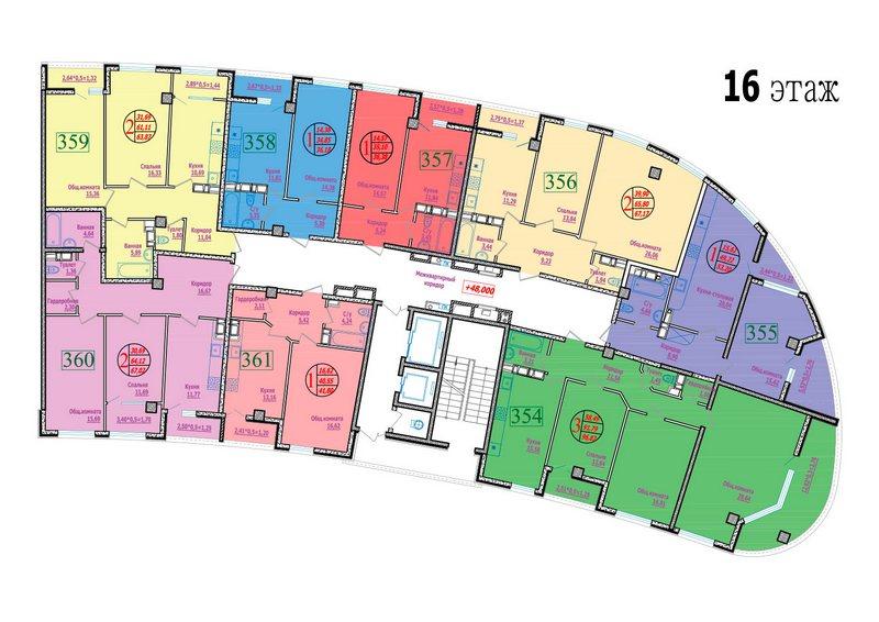 этаж 16